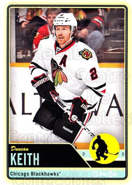 2012-13 O-pee-chee #6 Duncan Keith<br/>1 In Stock - $2.00 each - <a href=https://centericecollectibles.foxycart.com/cart?name=2012-13%20O-pee-chee%20%236%20Duncan%20Keith...&quantity_max=1&price=$2.00&code=684476 class=foxycart> Buy it now! </a>