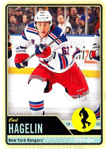 2012-13 O-pee-chee #16 Carl Hagelin<br/>2 In Stock - $1.00 each - <a href=https://centericecollectibles.foxycart.com/cart?name=2012-13%20O-pee-chee%20%2316%20Carl%20Hagelin...&quantity_max=2&price=$1.00&code=684486 class=foxycart> Buy it now! </a>