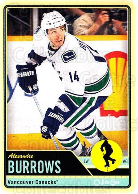 2012-13 O-pee-chee #25 Alexandre Burrows<br/>2 In Stock - $1.00 each - <a href=https://centericecollectibles.foxycart.com/cart?name=2012-13%20O-pee-chee%20%2325%20Alexandre%20Burro...&quantity_max=2&price=$1.00&code=684495 class=foxycart> Buy it now! </a>