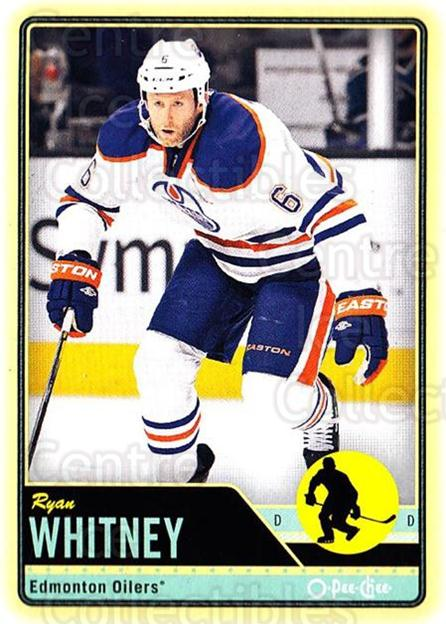 2012-13 O-pee-chee #30 Ryan Whitney<br/>2 In Stock - $1.00 each - <a href=https://centericecollectibles.foxycart.com/cart?name=2012-13%20O-pee-chee%20%2330%20Ryan%20Whitney...&quantity_max=2&price=$1.00&code=684500 class=foxycart> Buy it now! </a>