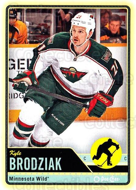 2012-13 O-pee-chee #42 Kyle Brodziak<br/>1 In Stock - $1.00 each - <a href=https://centericecollectibles.foxycart.com/cart?name=2012-13%20O-pee-chee%20%2342%20Kyle%20Brodziak...&quantity_max=1&price=$1.00&code=684512 class=foxycart> Buy it now! </a>