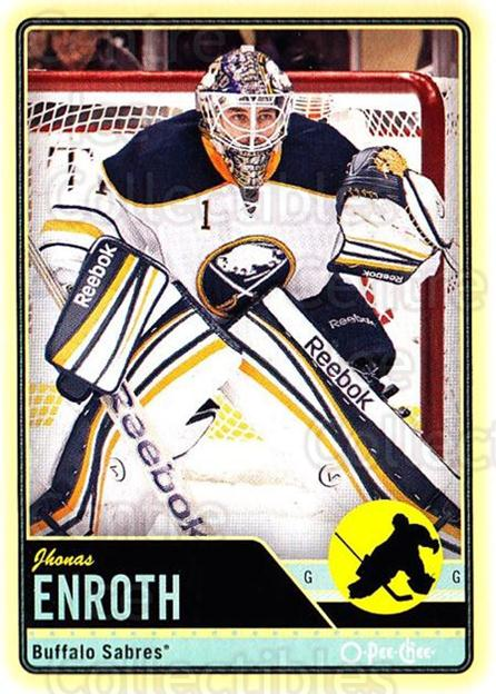 2012-13 O-pee-chee #57 Jhonas Enroth<br/>2 In Stock - $1.00 each - <a href=https://centericecollectibles.foxycart.com/cart?name=2012-13%20O-pee-chee%20%2357%20Jhonas%20Enroth...&quantity_max=2&price=$1.00&code=684527 class=foxycart> Buy it now! </a>
