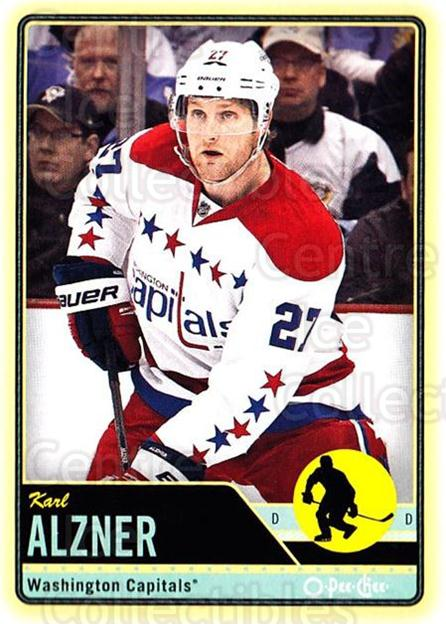 2012-13 O-pee-chee #62 Karl Alzner<br/>2 In Stock - $1.00 each - <a href=https://centericecollectibles.foxycart.com/cart?name=2012-13%20O-pee-chee%20%2362%20Karl%20Alzner...&quantity_max=2&price=$1.00&code=684532 class=foxycart> Buy it now! </a>