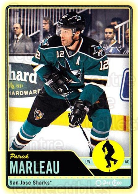 2012-13 O-pee-chee #64 Patrick Marleau<br/>2 In Stock - $1.00 each - <a href=https://centericecollectibles.foxycart.com/cart?name=2012-13%20O-pee-chee%20%2364%20Patrick%20Marleau...&quantity_max=2&price=$1.00&code=684534 class=foxycart> Buy it now! </a>