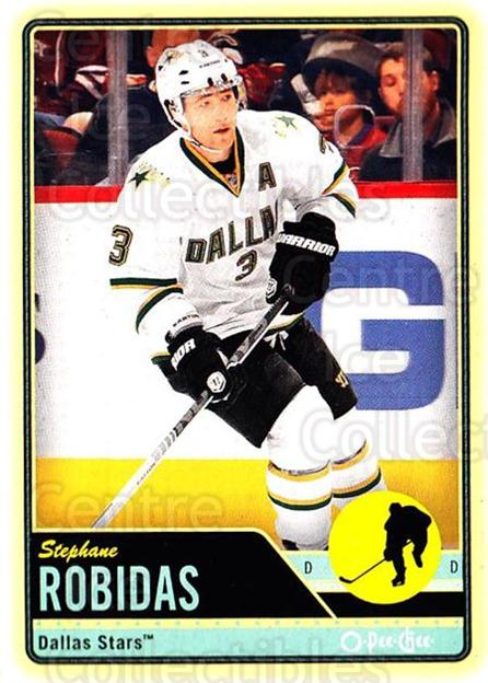 2012-13 O-pee-chee #70 Stephane Robidas<br/>2 In Stock - $1.00 each - <a href=https://centericecollectibles.foxycart.com/cart?name=2012-13%20O-pee-chee%20%2370%20Stephane%20Robida...&quantity_max=2&price=$1.00&code=684540 class=foxycart> Buy it now! </a>