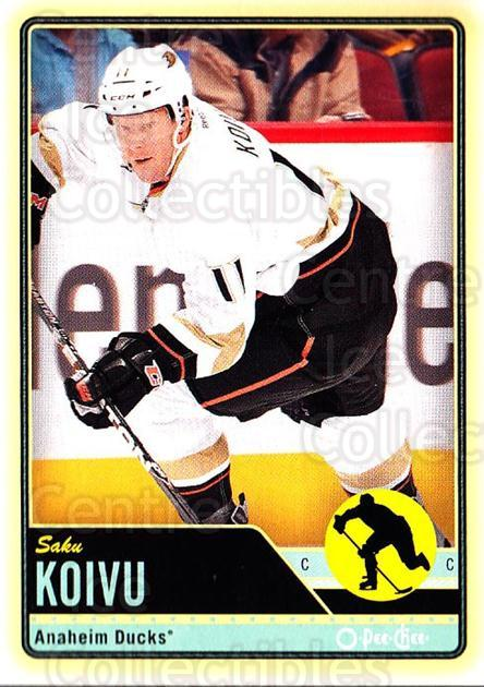 2012-13 O-pee-chee #77 Saku Koivu<br/>1 In Stock - $1.00 each - <a href=https://centericecollectibles.foxycart.com/cart?name=2012-13%20O-pee-chee%20%2377%20Saku%20Koivu...&quantity_max=1&price=$1.00&code=684547 class=foxycart> Buy it now! </a>