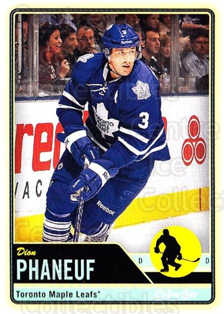 2012-13 O-pee-chee #78 Dion Phaneuf<br/>2 In Stock - $1.00 each - <a href=https://centericecollectibles.foxycart.com/cart?name=2012-13%20O-pee-chee%20%2378%20Dion%20Phaneuf...&price=$1.00&code=684548 class=foxycart> Buy it now! </a>