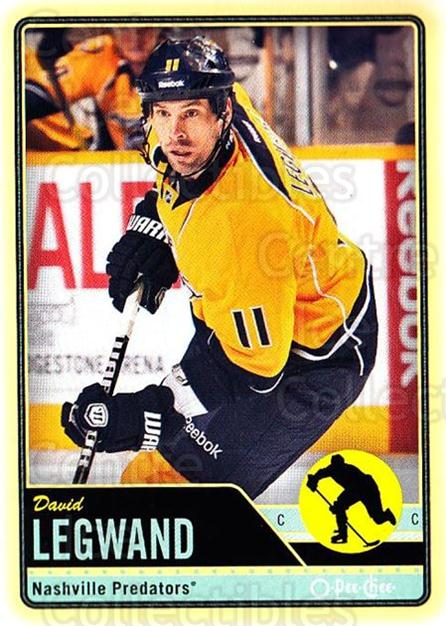 2012-13 O-pee-chee #99 David Legwand<br/>2 In Stock - $1.00 each - <a href=https://centericecollectibles.foxycart.com/cart?name=2012-13%20O-pee-chee%20%2399%20David%20Legwand...&quantity_max=2&price=$1.00&code=684569 class=foxycart> Buy it now! </a>