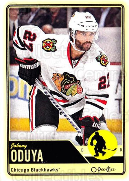 2012-13 O-pee-chee #106 Johnny Oduya<br/>2 In Stock - $1.00 each - <a href=https://centericecollectibles.foxycart.com/cart?name=2012-13%20O-pee-chee%20%23106%20Johnny%20Oduya...&quantity_max=2&price=$1.00&code=684576 class=foxycart> Buy it now! </a>