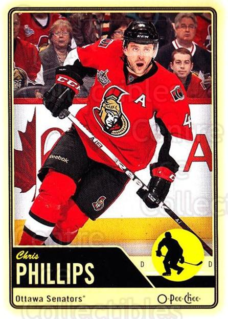 2012-13 O-pee-chee #111 Chris Phillips<br/>2 In Stock - $1.00 each - <a href=https://centericecollectibles.foxycart.com/cart?name=2012-13%20O-pee-chee%20%23111%20Chris%20Phillips...&quantity_max=2&price=$1.00&code=684581 class=foxycart> Buy it now! </a>