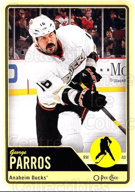 2012-13 O-pee-chee #113 George Parros<br/>2 In Stock - $1.00 each - <a href=https://centericecollectibles.foxycart.com/cart?name=2012-13%20O-pee-chee%20%23113%20George%20Parros...&quantity_max=2&price=$1.00&code=684583 class=foxycart> Buy it now! </a>