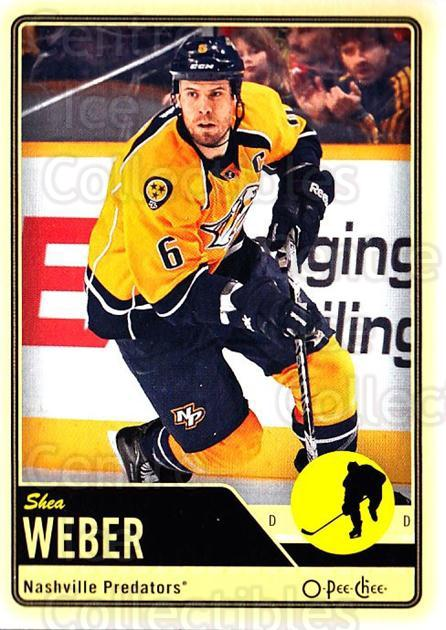 2012-13 O-pee-chee #115 Shea Weber<br/>2 In Stock - $1.00 each - <a href=https://centericecollectibles.foxycart.com/cart?name=2012-13%20O-pee-chee%20%23115%20Shea%20Weber...&quantity_max=2&price=$1.00&code=684585 class=foxycart> Buy it now! </a>