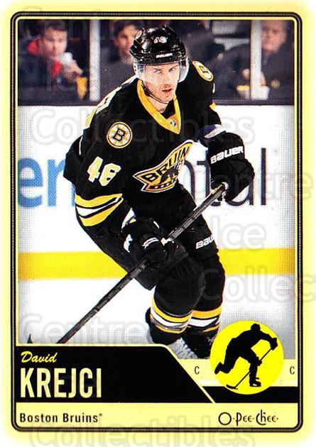 2012-13 O-pee-chee #119 David Krejci<br/>3 In Stock - $1.00 each - <a href=https://centericecollectibles.foxycart.com/cart?name=2012-13%20O-pee-chee%20%23119%20David%20Krejci...&quantity_max=3&price=$1.00&code=684589 class=foxycart> Buy it now! </a>