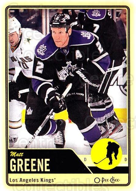 2012-13 O-pee-chee #127 Matt Greene<br/>3 In Stock - $1.00 each - <a href=https://centericecollectibles.foxycart.com/cart?name=2012-13%20O-pee-chee%20%23127%20Matt%20Greene...&quantity_max=3&price=$1.00&code=684597 class=foxycart> Buy it now! </a>