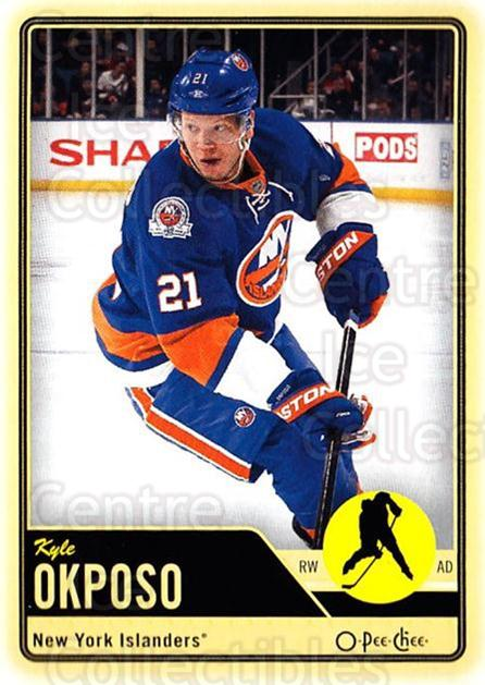 2012-13 O-pee-chee #128 Kyle Okposo<br/>3 In Stock - $1.00 each - <a href=https://centericecollectibles.foxycart.com/cart?name=2012-13%20O-pee-chee%20%23128%20Kyle%20Okposo...&quantity_max=3&price=$1.00&code=684598 class=foxycart> Buy it now! </a>