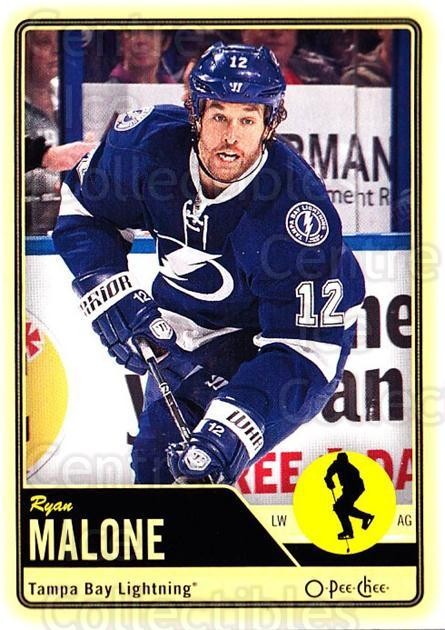 2012-13 O-pee-chee #142 Ryan Malone<br/>3 In Stock - $1.00 each - <a href=https://centericecollectibles.foxycart.com/cart?name=2012-13%20O-pee-chee%20%23142%20Ryan%20Malone...&quantity_max=3&price=$1.00&code=684612 class=foxycart> Buy it now! </a>