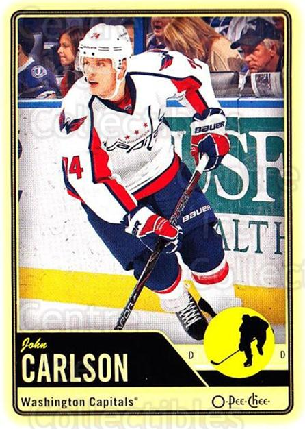 2012-13 O-pee-chee #154 John Carlson<br/>3 In Stock - $1.00 each - <a href=https://centericecollectibles.foxycart.com/cart?name=2012-13%20O-pee-chee%20%23154%20John%20Carlson...&quantity_max=3&price=$1.00&code=684624 class=foxycart> Buy it now! </a>