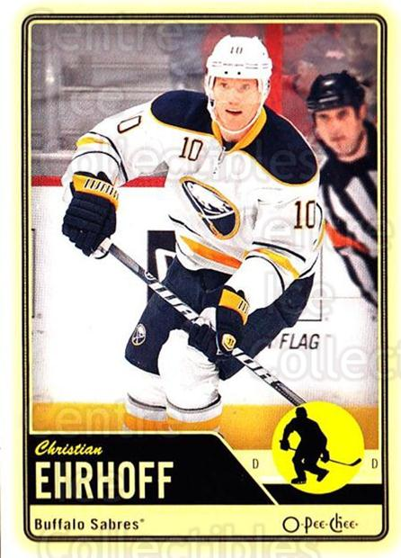 2012-13 O-pee-chee #156 Christian Ehrhoff<br/>3 In Stock - $1.00 each - <a href=https://centericecollectibles.foxycart.com/cart?name=2012-13%20O-pee-chee%20%23156%20Christian%20Ehrho...&quantity_max=3&price=$1.00&code=684626 class=foxycart> Buy it now! </a>