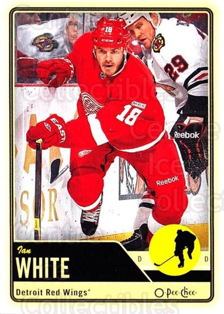 2012-13 O-pee-chee #165 Ian White<br/>3 In Stock - $1.00 each - <a href=https://centericecollectibles.foxycart.com/cart?name=2012-13%20O-pee-chee%20%23165%20Ian%20White...&quantity_max=3&price=$1.00&code=684635 class=foxycart> Buy it now! </a>