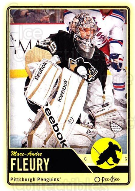 2012-13 O-pee-chee #166 Marc-Andre Fleury<br/>3 In Stock - $2.00 each - <a href=https://centericecollectibles.foxycart.com/cart?name=2012-13%20O-pee-chee%20%23166%20Marc-Andre%20Fleu...&quantity_max=3&price=$2.00&code=684636 class=foxycart> Buy it now! </a>