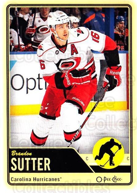 2012-13 O-pee-chee #179 Brandon Sutter<br/>2 In Stock - $1.00 each - <a href=https://centericecollectibles.foxycart.com/cart?name=2012-13%20O-pee-chee%20%23179%20Brandon%20Sutter...&price=$1.00&code=684649 class=foxycart> Buy it now! </a>