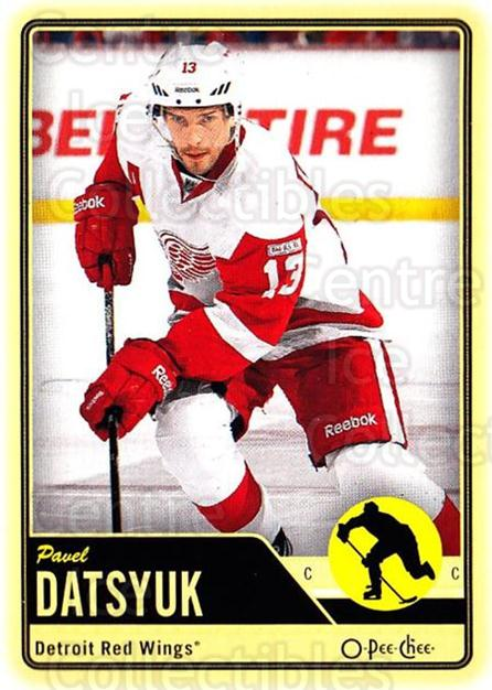 2012-13 O-pee-chee #184 Pavel Datsyuk<br/>3 In Stock - $2.00 each - <a href=https://centericecollectibles.foxycart.com/cart?name=2012-13%20O-pee-chee%20%23184%20Pavel%20Datsyuk...&quantity_max=3&price=$2.00&code=684654 class=foxycart> Buy it now! </a>