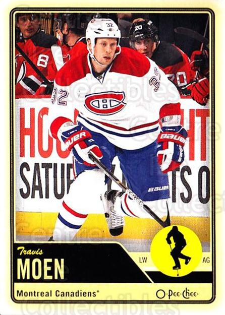 2012-13 O-pee-chee #185 Travis Moen<br/>3 In Stock - $1.00 each - <a href=https://centericecollectibles.foxycart.com/cart?name=2012-13%20O-pee-chee%20%23185%20Travis%20Moen...&quantity_max=3&price=$1.00&code=684655 class=foxycart> Buy it now! </a>