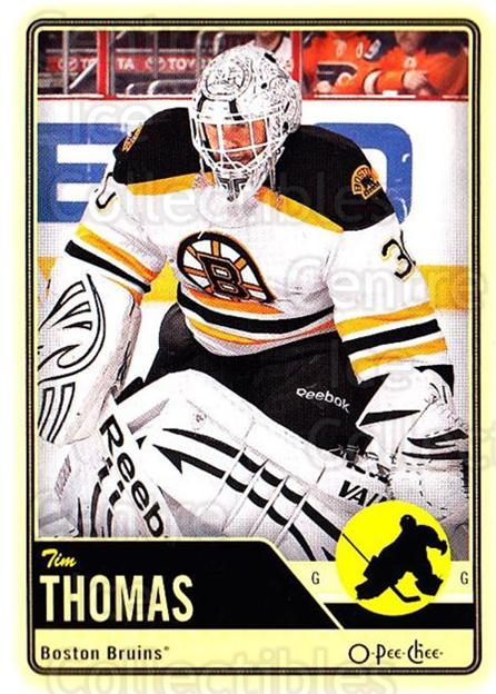 2012-13 O-pee-chee #186 Tim Thomas<br/>3 In Stock - $1.00 each - <a href=https://centericecollectibles.foxycart.com/cart?name=2012-13%20O-pee-chee%20%23186%20Tim%20Thomas...&quantity_max=3&price=$1.00&code=684656 class=foxycart> Buy it now! </a>