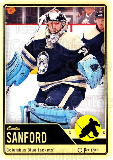 2012-13 O-pee-chee #187 Curtis Sanford<br/>2 In Stock - $1.00 each - <a href=https://centericecollectibles.foxycart.com/cart?name=2012-13%20O-pee-chee%20%23187%20Curtis%20Sanford...&quantity_max=2&price=$1.00&code=684657 class=foxycart> Buy it now! </a>