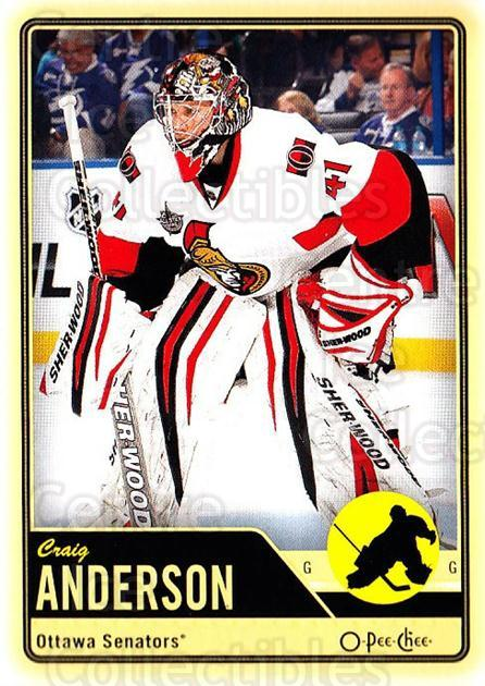 2012-13 O-pee-chee #193 Craig Anderson<br/>2 In Stock - $1.00 each - <a href=https://centericecollectibles.foxycart.com/cart?name=2012-13%20O-pee-chee%20%23193%20Craig%20Anderson...&quantity_max=2&price=$1.00&code=684663 class=foxycart> Buy it now! </a>