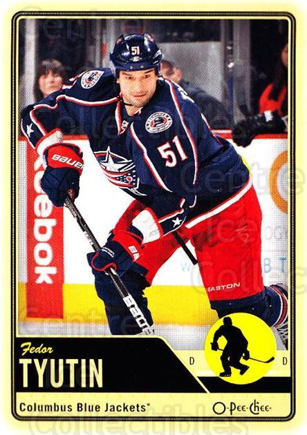 2012-13 O-pee-chee #198 Fedor Tyutin<br/>2 In Stock - $1.00 each - <a href=https://centericecollectibles.foxycart.com/cart?name=2012-13%20O-pee-chee%20%23198%20Fedor%20Tyutin...&quantity_max=2&price=$1.00&code=684668 class=foxycart> Buy it now! </a>