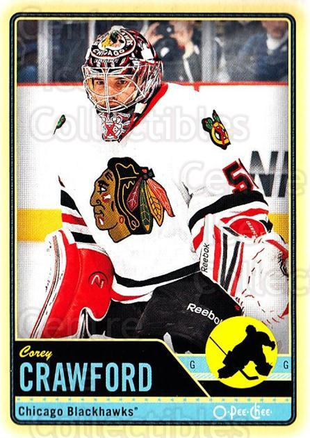 2012-13 O-pee-chee #205 Corey Crawford<br/>3 In Stock - $1.00 each - <a href=https://centericecollectibles.foxycart.com/cart?name=2012-13%20O-pee-chee%20%23205%20Corey%20Crawford...&quantity_max=3&price=$1.00&code=684675 class=foxycart> Buy it now! </a>