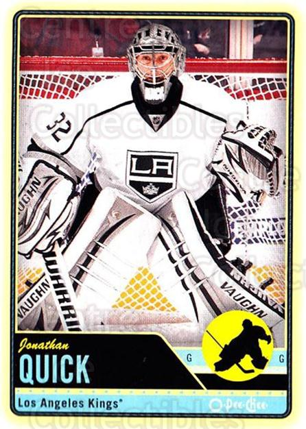 2012-13 O-pee-chee #222 Jonathan Quick<br/>3 In Stock - $1.00 each - <a href=https://centericecollectibles.foxycart.com/cart?name=2012-13%20O-pee-chee%20%23222%20Jonathan%20Quick...&quantity_max=3&price=$1.00&code=684692 class=foxycart> Buy it now! </a>