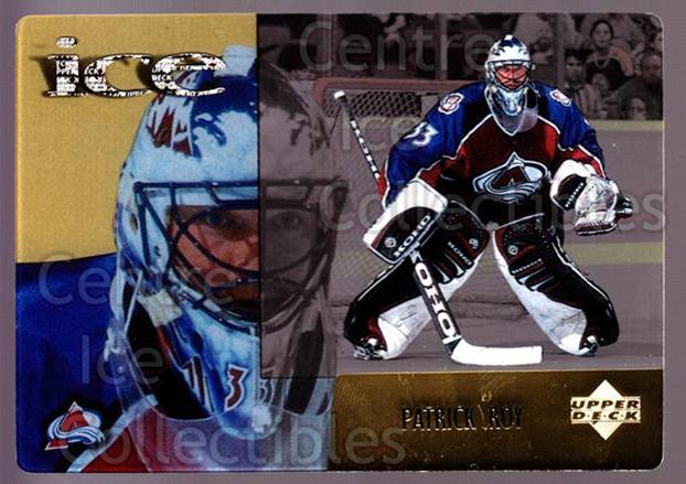 1998-99 McDonald's Upper Deck #15 Patrick Roy<br/>4 In Stock - $3.00 each - <a href=https://centericecollectibles.foxycart.com/cart?name=1998-99%20McDonald's%20Upper%20Deck%20%2315%20Patrick%20Roy...&price=$3.00&code=68469 class=foxycart> Buy it now! </a>