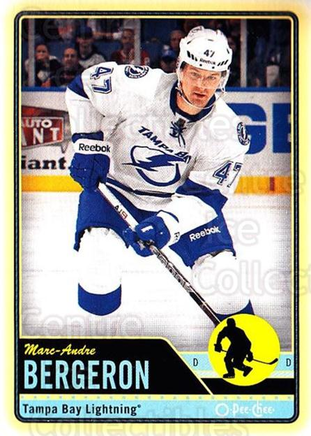 2012-13 O-pee-chee #249 Marc-Andre Bergeron<br/>3 In Stock - $1.00 each - <a href=https://centericecollectibles.foxycart.com/cart?name=2012-13%20O-pee-chee%20%23249%20Marc-Andre%20Berg...&quantity_max=3&price=$1.00&code=684719 class=foxycart> Buy it now! </a>