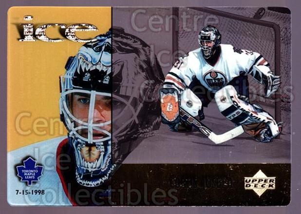 1998-99 McDonalds Upper Deck #18 Curtis Joseph<br/>10 In Stock - $1.00 each - <a href=https://centericecollectibles.foxycart.com/cart?name=1998-99%20McDonalds%20Upper%20Deck%20%2318%20Curtis%20Joseph...&quantity_max=10&price=$1.00&code=68471 class=foxycart> Buy it now! </a>