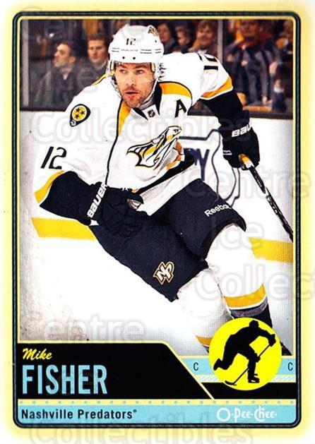 2012-13 O-pee-chee #250 Mike Fisher<br/>2 In Stock - $1.00 each - <a href=https://centericecollectibles.foxycart.com/cart?name=2012-13%20O-pee-chee%20%23250%20Mike%20Fisher...&quantity_max=2&price=$1.00&code=684720 class=foxycart> Buy it now! </a>