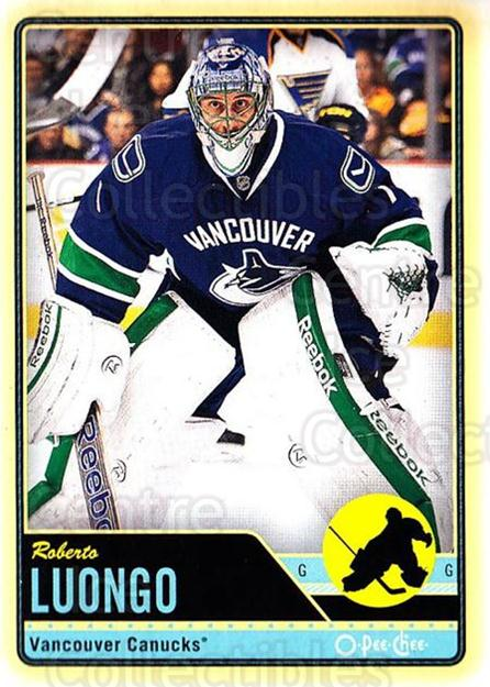 2012-13 O-pee-chee #265 Roberto Luongo<br/>2 In Stock - $1.00 each - <a href=https://centericecollectibles.foxycart.com/cart?name=2012-13%20O-pee-chee%20%23265%20Roberto%20Luongo...&quantity_max=2&price=$1.00&code=684735 class=foxycart> Buy it now! </a>