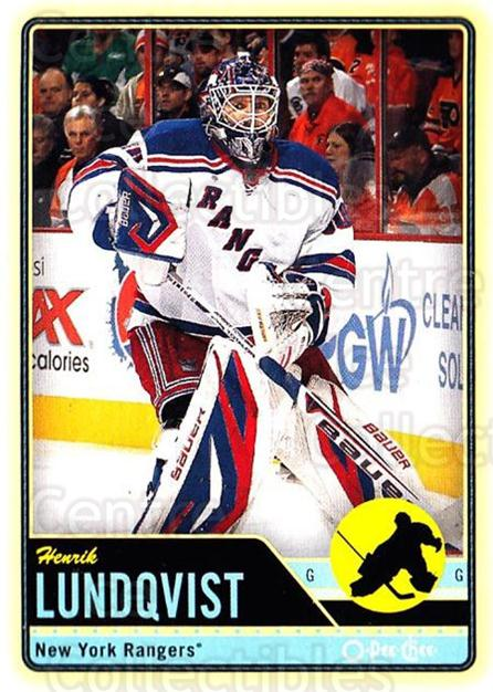 2012-13 O-pee-chee #288 Henrik Lundqvist<br/>3 In Stock - $2.00 each - <a href=https://centericecollectibles.foxycart.com/cart?name=2012-13%20O-pee-chee%20%23288%20Henrik%20Lundqvis...&quantity_max=3&price=$2.00&code=684758 class=foxycart> Buy it now! </a>