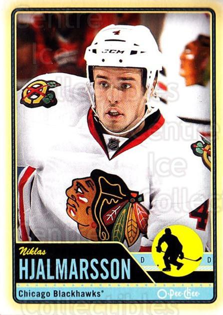 2012-13 O-pee-chee #293 Niklas Hjalmarsson<br/>2 In Stock - $1.00 each - <a href=https://centericecollectibles.foxycart.com/cart?name=2012-13%20O-pee-chee%20%23293%20Niklas%20Hjalmars...&quantity_max=2&price=$1.00&code=684763 class=foxycart> Buy it now! </a>