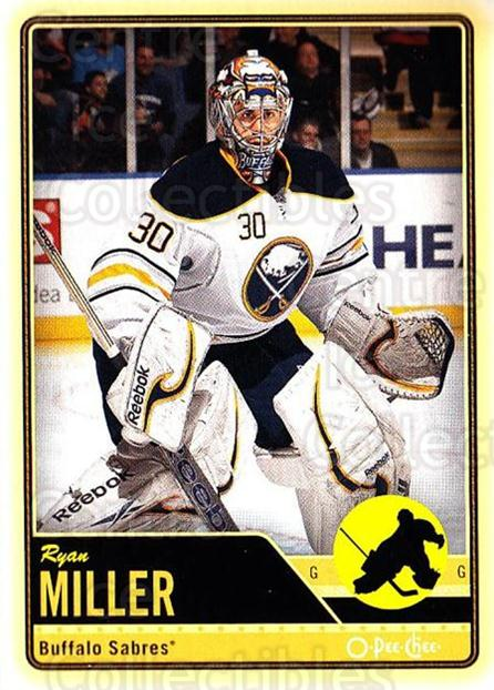 2012-13 O-pee-chee #303 Ryan Miller<br/>3 In Stock - $1.00 each - <a href=https://centericecollectibles.foxycart.com/cart?name=2012-13%20O-pee-chee%20%23303%20Ryan%20Miller...&quantity_max=3&price=$1.00&code=684773 class=foxycart> Buy it now! </a>