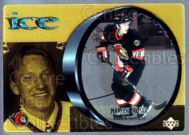 1998-99 McDonalds Upper Deck #23 Marian Hossa<br/>9 In Stock - $1.00 each - <a href=https://centericecollectibles.foxycart.com/cart?name=1998-99%20McDonalds%20Upper%20Deck%20%2323%20Marian%20Hossa...&quantity_max=9&price=$1.00&code=68477 class=foxycart> Buy it now! </a>