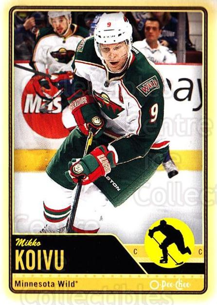 2012-13 O-pee-chee #323 Mikko Koivu<br/>3 In Stock - $1.00 each - <a href=https://centericecollectibles.foxycart.com/cart?name=2012-13%20O-pee-chee%20%23323%20Mikko%20Koivu...&quantity_max=3&price=$1.00&code=684793 class=foxycart> Buy it now! </a>