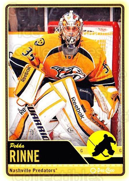 2012-13 O-pee-chee #346 Pekka Rinne<br/>3 In Stock - $1.00 each - <a href=https://centericecollectibles.foxycart.com/cart?name=2012-13%20O-pee-chee%20%23346%20Pekka%20Rinne...&quantity_max=3&price=$1.00&code=684816 class=foxycart> Buy it now! </a>