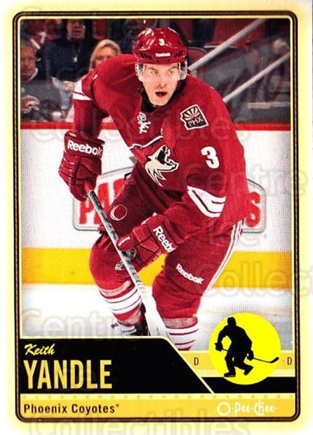 2012-13 O-pee-chee #351 Keith Yandle<br/>3 In Stock - $1.00 each - <a href=https://centericecollectibles.foxycart.com/cart?name=2012-13%20O-pee-chee%20%23351%20Keith%20Yandle...&quantity_max=3&price=$1.00&code=684821 class=foxycart> Buy it now! </a>