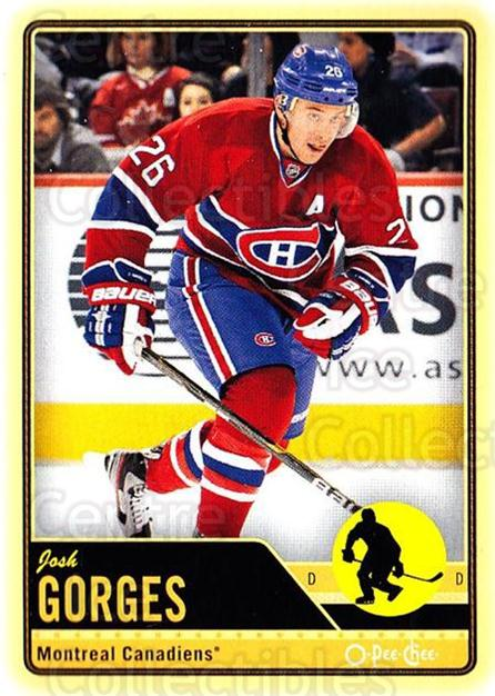 2012-13 O-pee-chee #374 Josh Gorges<br/>2 In Stock - $1.00 each - <a href=https://centericecollectibles.foxycart.com/cart?name=2012-13%20O-pee-chee%20%23374%20Josh%20Gorges...&quantity_max=2&price=$1.00&code=684844 class=foxycart> Buy it now! </a>