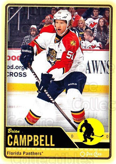 2012-13 O-pee-chee #384 Brian Campbell<br/>3 In Stock - $1.00 each - <a href=https://centericecollectibles.foxycart.com/cart?name=2012-13%20O-pee-chee%20%23384%20Brian%20Campbell...&quantity_max=3&price=$1.00&code=684854 class=foxycart> Buy it now! </a>