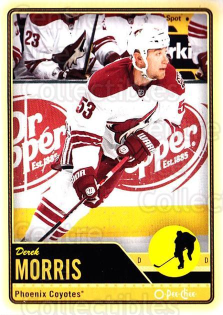 2012-13 O-pee-chee #393 Derek Morris<br/>3 In Stock - $1.00 each - <a href=https://centericecollectibles.foxycart.com/cart?name=2012-13%20O-pee-chee%20%23393%20Derek%20Morris...&quantity_max=3&price=$1.00&code=684863 class=foxycart> Buy it now! </a>