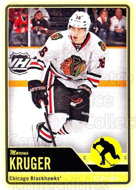 2012-13 O-pee-chee #462 Marcus Kruger<br/>2 In Stock - $1.00 each - <a href=https://centericecollectibles.foxycart.com/cart?name=2012-13%20O-pee-chee%20%23462%20Marcus%20Kruger...&quantity_max=2&price=$1.00&code=684932 class=foxycart> Buy it now! </a>