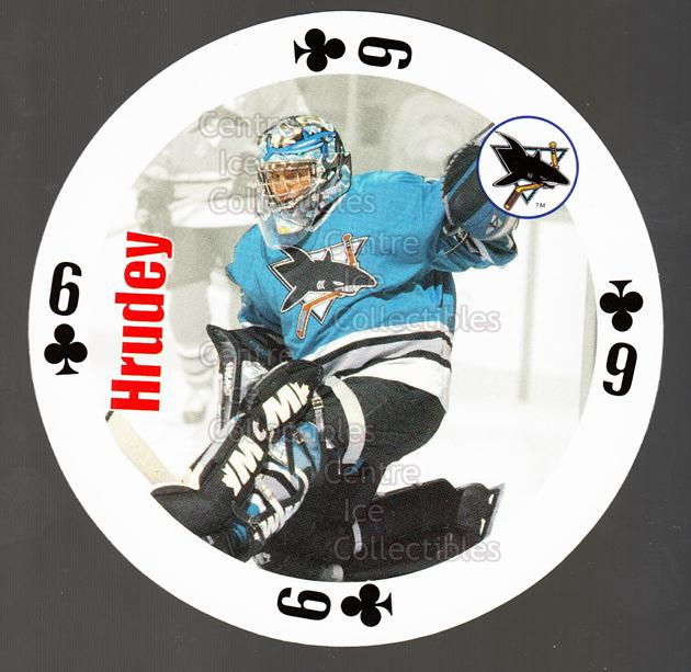 1998-99 NHL Aces Playing Card #19 Kelly Hrudey<br/>5 In Stock - $2.00 each - <a href=https://centericecollectibles.foxycart.com/cart?name=1998-99%20NHL%20Aces%20Playing%20Card%20%2319%20Kelly%20Hrudey...&quantity_max=5&price=$2.00&code=68497 class=foxycart> Buy it now! </a>